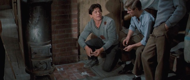 Charles Bronson and John Leyton in The Great Escape (1963)