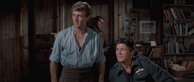 John Leyton and Charles Bronson in The Great Escape (1963)