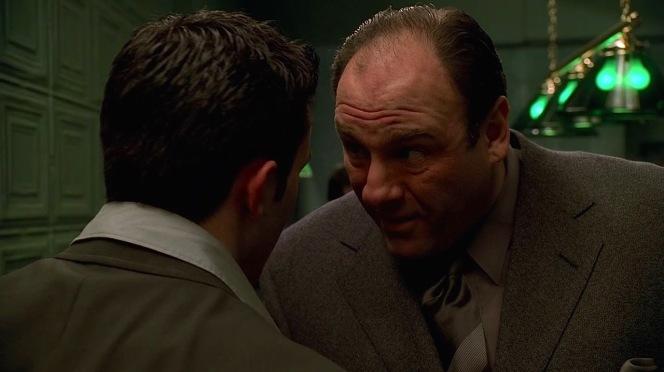 "Tony gives Jackie Jr. one of many unheeded warnings to ""smarten up""."