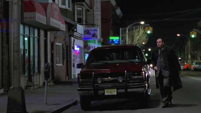 The kind of parking spot you only get in movies and TV shows...
