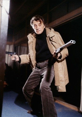Robert Mitchum as Harry Kilmer in The Yakuza (1974)