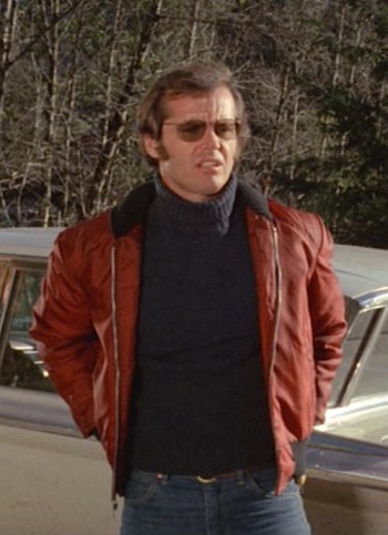 "Jack Nicholson as Robert ""Bobby"" Dupea in Five Easy Pieces (1970)"