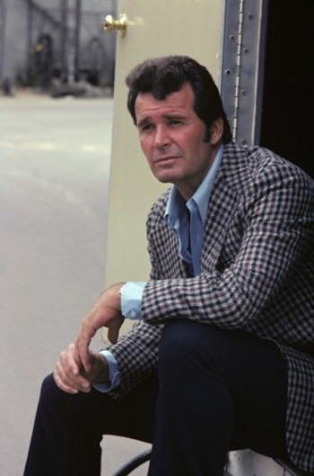James Garner as Jim Rockford on The Rockford Files (1974-1980)