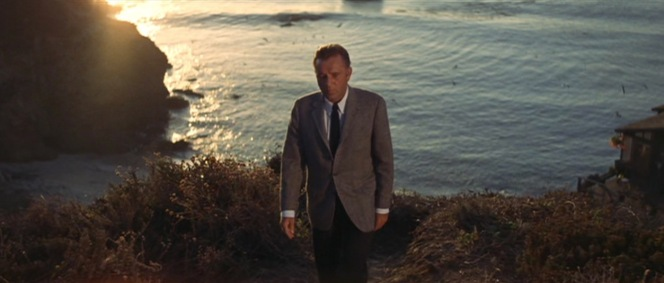 Edward at the film's finale, leaving Laura—and Big Sur—behind him.