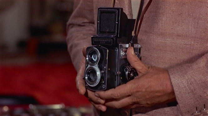 """Matt Helm's Richomatic 225 gives a whole new meaning to the term """"photo shoot""""."""