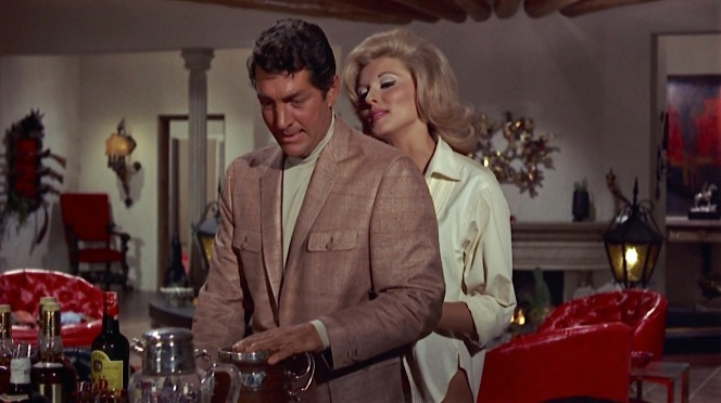 Booze and blondes: the Dean Martin image in a nutshell.