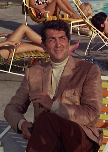 Dean Martin as Matt Helm in The Silencers (1966)