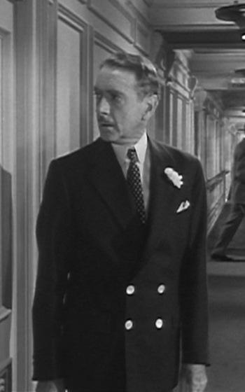 Clifton Webb as Richard Ward Sturges in Titanic (1953)
