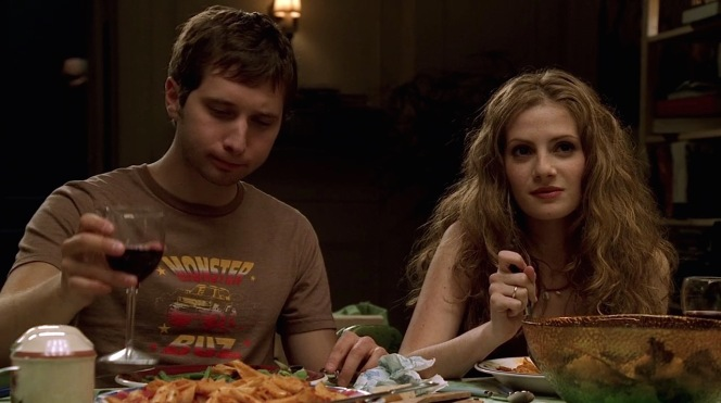 "Meadow's friends, Colin (Evan Neuman) and Alex (Aleksa Palladino), in ""Eloise"" (Episode 4.12)."