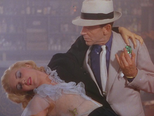 Rod Riley solves another case. Note Astaire's suspenders, glimpsed under the right side of his suit jacket.