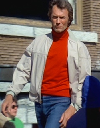 Clint Eastwood as Dr. Jonathan Hemlock in The Eiger Sanction (1975)