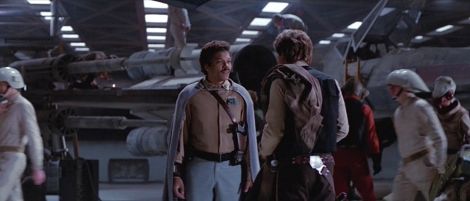Lando reconnects with an old pal.