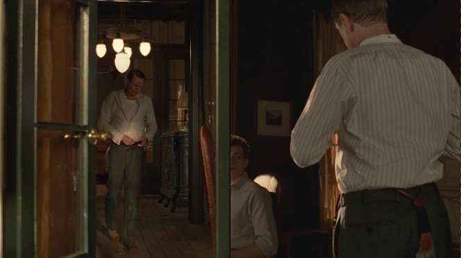 """Nucky dresses for the day in """"The Old Ship of Zion"""" (Episode 4.08)."""