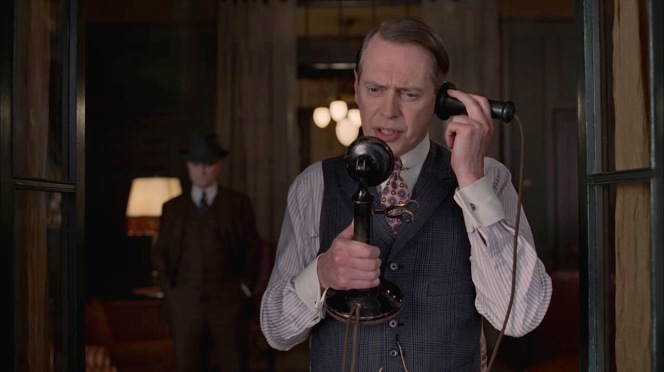 "A tense phone call in ""White Horse Pike"" (Episode 4.10)."