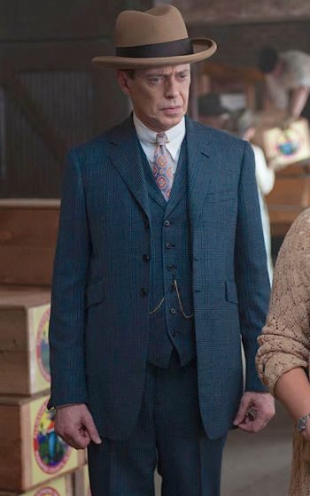 "Steve Buscemi as Enoch ""Nucky"" Thompson on Boardwalk Empire (Episode 4.08: ""Old Ship of Zion"")"