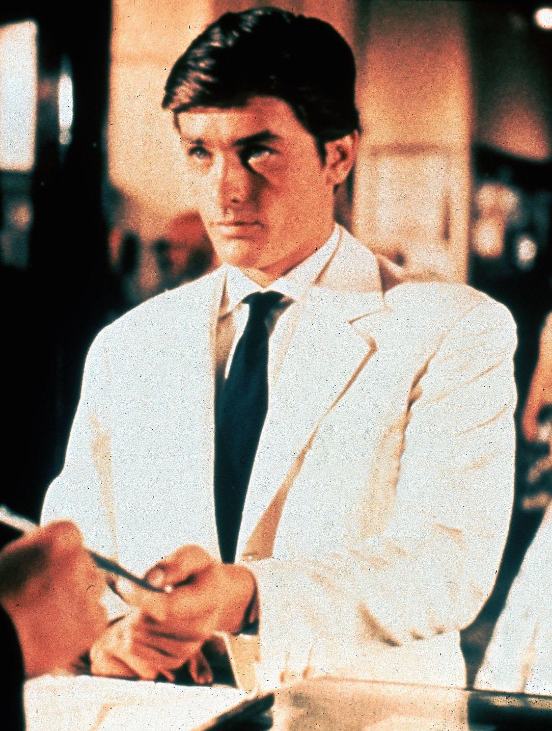 b5039bbd54d9 Alain Delon as Tom Ripley in Purple Noon (1960)