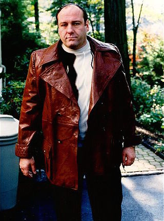 "James Gandolfini as Tony Soprano on The Sopranos (Episode 2.08: ""Full Leather Jacket"")"