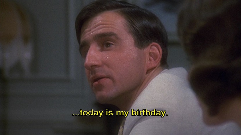 """...today is my birthday."""