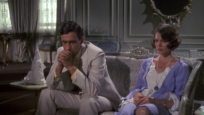 Sam Waterston and Lois Chiles in The Great Gatsby (1974)