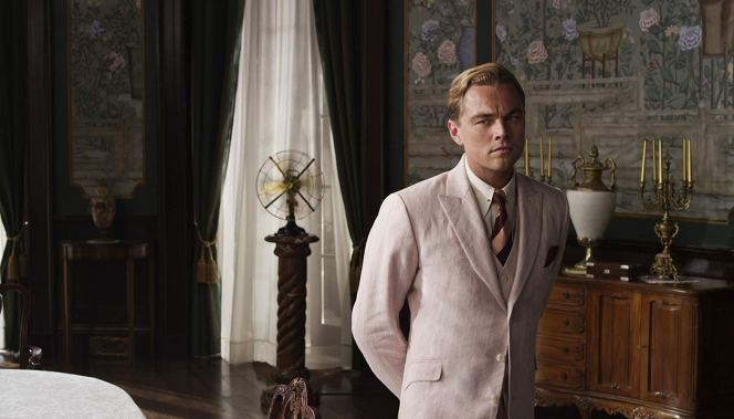 Promotional photo of Leonardo DiCaprio in The Great Gatsby (2013).