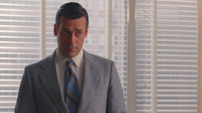 "No doubt vintage, this tie in ""Severance"" (Episode 7.08) is admittedly not one of Don's more timeless or stylish ties."