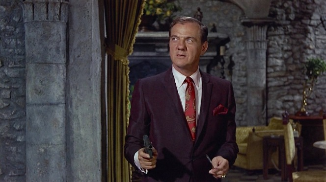 I'm not sure if it qualifies for a full-length BAMF Style post, but can we all appreciate Karl Malden's purple silk suit as Dr. Wall? It's hardly timeless or classic... but Malden pulls it off.