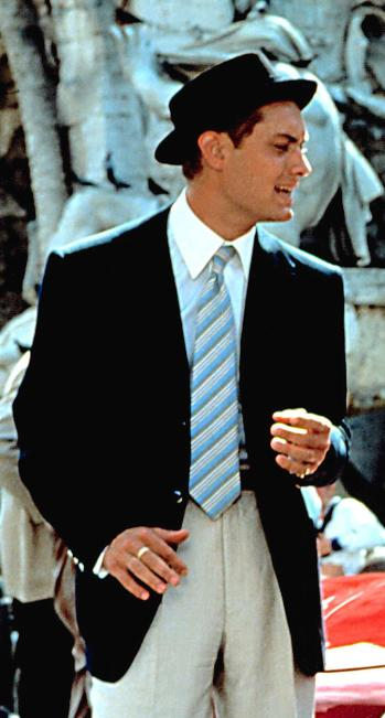 Jude Law as Dickie Greenleaf in The Talented Mr. Ripley (1999)