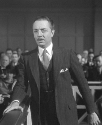 William Powell as Jim Wade in Manhattan Melodrama (1934)