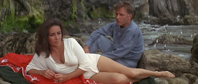 "Though The V.I.P.s (1963) and Cleopatra (1963) were their first movies together, The Sandpiper (1965) was the first of Burton and Taylor's collaborations as a married couple. Interestingly, they played a married couple in The V.I.P.s when they were ""secretly"" seeing each other... but they played secret lovers in The Sandpiper when they were actually married in real life. The adulterous irony was not lost on contemporary critics or audiences."