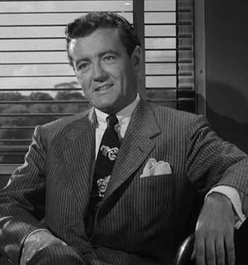 Robert Walker as Bruno Antony in Strangers on a Train (1951)