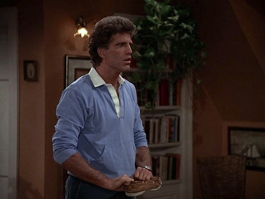 The athletic origins of the rugby shirt make it a perfect fit for proud ex-jock Sam Malone.