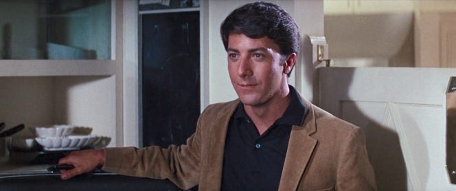 The corduroy jacket over a black polo and jeans is a surprisingly contemporary approach to dressing, possibly even more fashionable in the more dressed-down world of 2019 than it was in 1967.