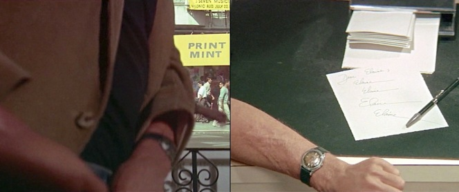 Any positive IDs on Ben Braddock's watch?