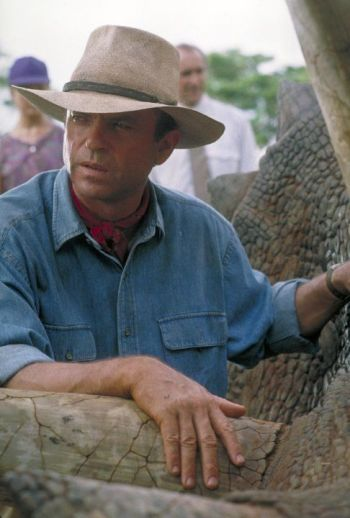 Sam Neill as Dr. Alan Grant in Jurassic Park (1993)