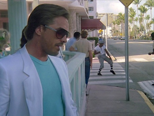 Our first look at Sonny Crockett.