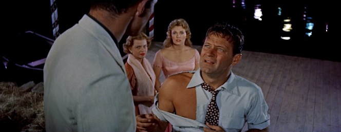 """New York Times critic Stephen Holden (no relation to William) commented in 1996 that, """"in 1955, the 'Moonglow' dance and the 'torn shirt' sequences from the movie Picnic were about as steamy as Hollywood could get in evoking explosive sex."""""""