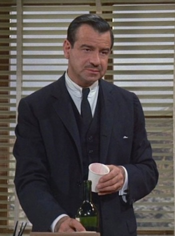 Walter Matthau as Carson Dyle in Charade (1963)