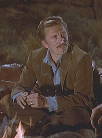 "Kirk Douglas as John ""Doc"" Holliday in Gunfight at the O.K. Corral (1957)"