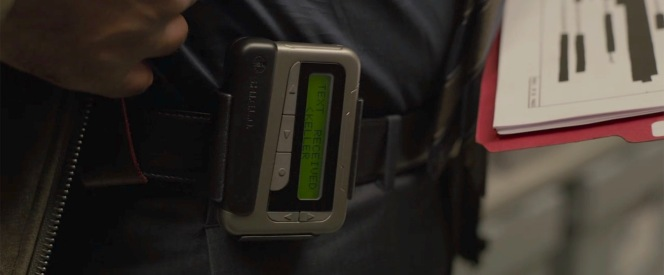 Chekhov's Pager.