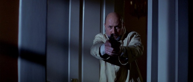 Dr. Loomis takes aim.