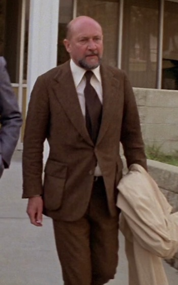Donald Pleasence as Dr. Sam Loomis in Halloween (1978)