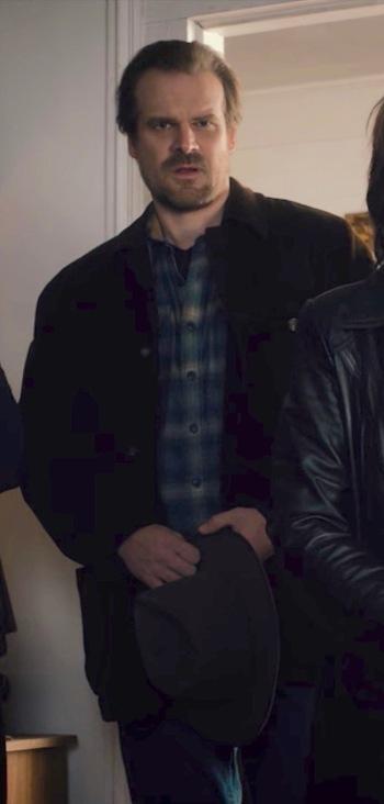 """David Harbour as Jim Hopper on Stranger Things (Episode 1.06: """"The Monster"""")"""