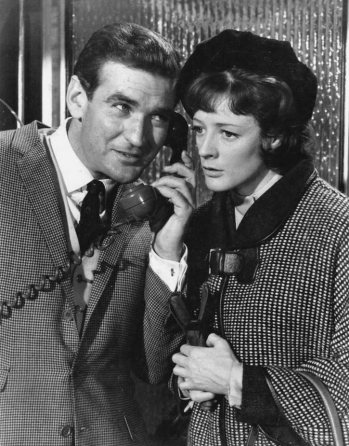 Rod Taylor and Maggie Smith in The V.I.P.s (1963)