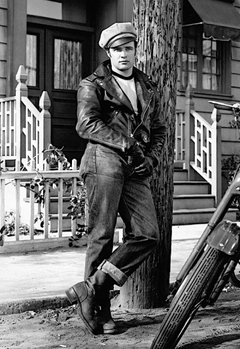 Marlon Brando as Johnny Stabler in The Wild One (1953)