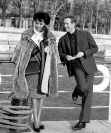 Diahann Carroll and Paul Newman in Paris Blues (1961)