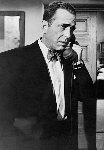 "Humphrey Bogart as Dixon ""Dix"" Steele in In a Lonely Place (1950)"
