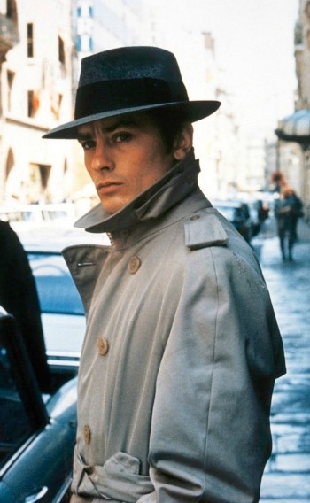 Alain Delon as Jef Costello in Le Samouraï (The Samurai) (1967)