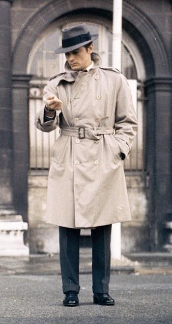 Alain Delon as Jef Costello in Le Samouraï (The Samurai) (1967)