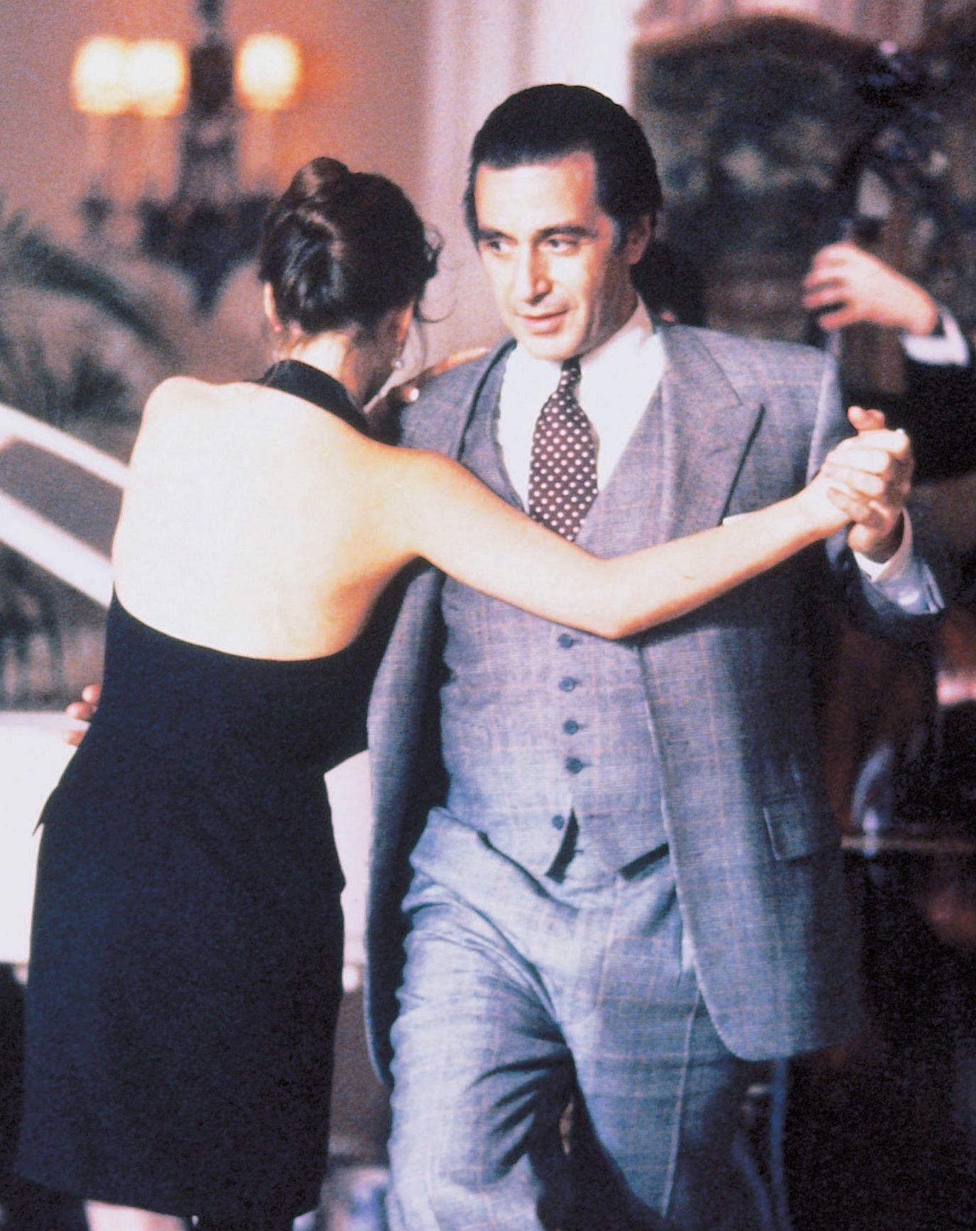 Scent Of A Woman Al Pacino S Glenurquhart Plaid Suit Bamf Style