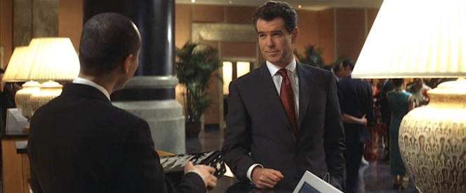 Pierce Brosnan wears Brioni in Die Another Day (2002), his final film as James Bond and the first 007 flick I'd seen in theaters.